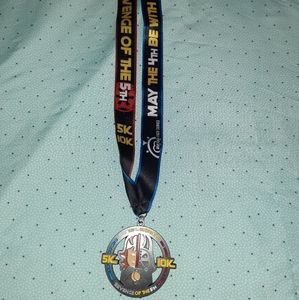 Star Wars Revenge of the 5th Running Medal Unique!